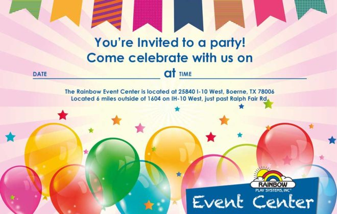 free party invitation download