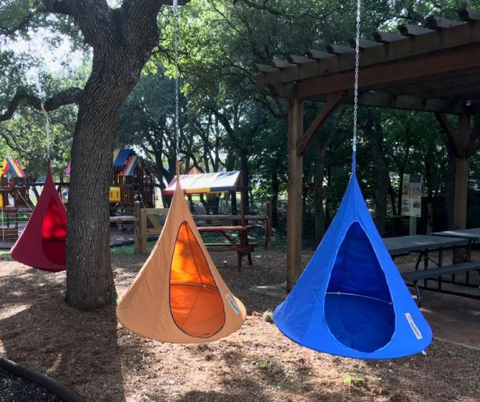 Cacoon Hanging Tents in Kids Corral